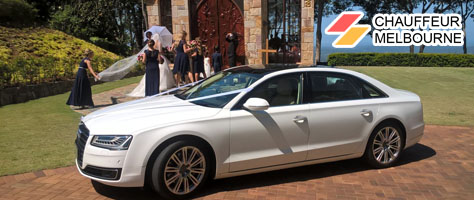 chauffeur melbourne wedding limos