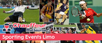 limo for sporting events in Melbourne
